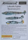 X48167  1/48 Luftwaffe Reconnaissance Fighters decals (10)